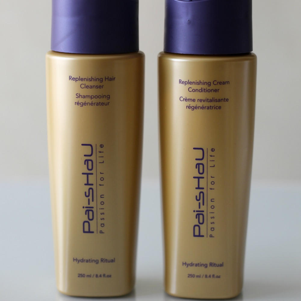 Pai-Shau Replenishing Hair Cleanser Replenishing Cream Conditioner