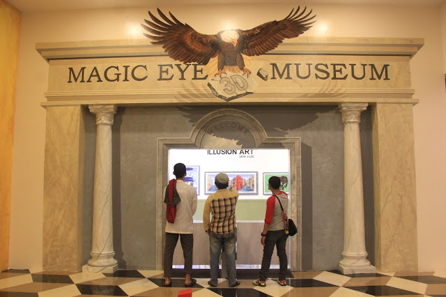 Magic Eye 3D Museum Kualanamu Indonesia - Medan