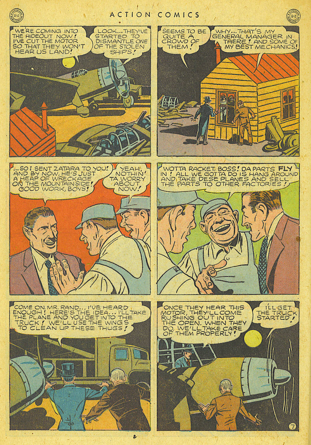 Read online Action Comics (1938) comic -  Issue #78 - 42