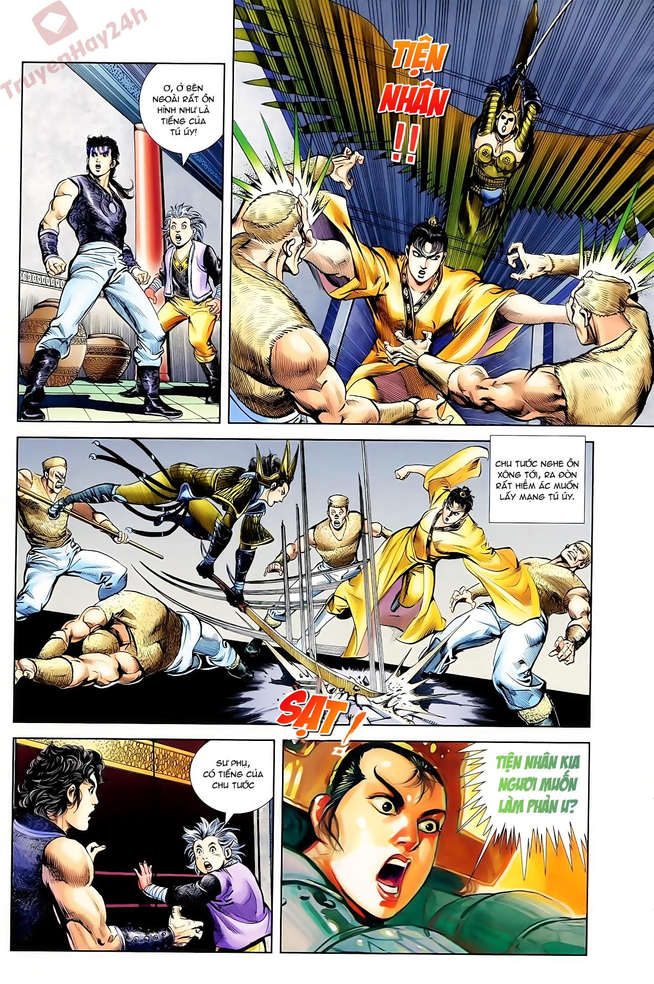 Cơ Phát Khai Chu Bản chapter 61 trang 30