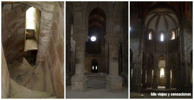 Interior monasterio de Carboeiro, Galicia