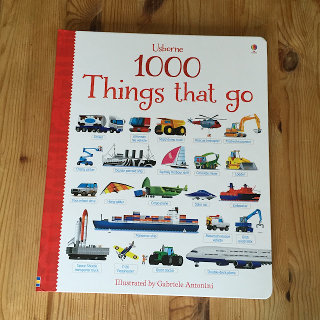 1000 Things That Go by Usborne