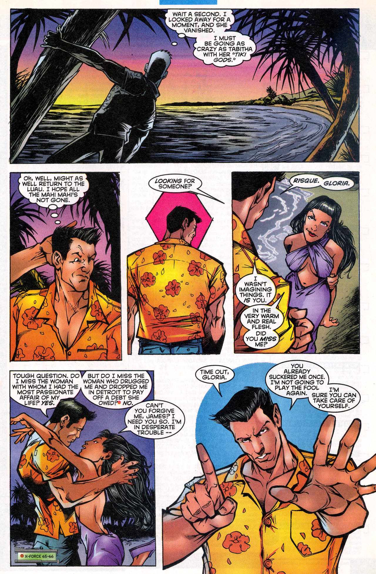 Read online X-Force (1991) comic -  Issue #81 - 12