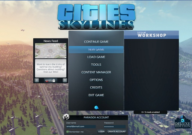 Cities Skylines Deluxe Edition PC Games