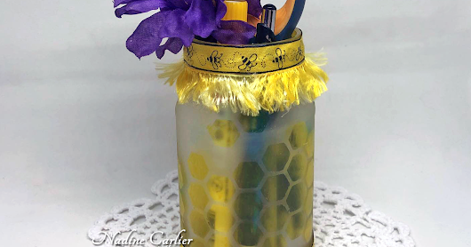 Upcycle A Jar To A Pencil Holder - Great For Teachers!