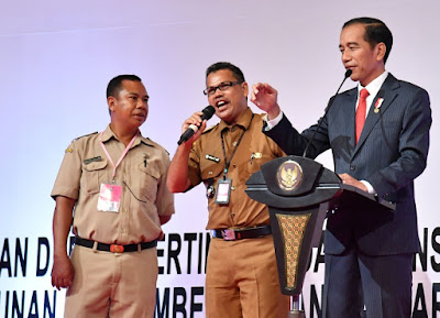 Presiden Jokowi Harap Peningkatan Dana Desa dapat Tingkatkan Kesejahteraan Masyarakat Desa - Info Presiden Jokowi Dan Pemerintah