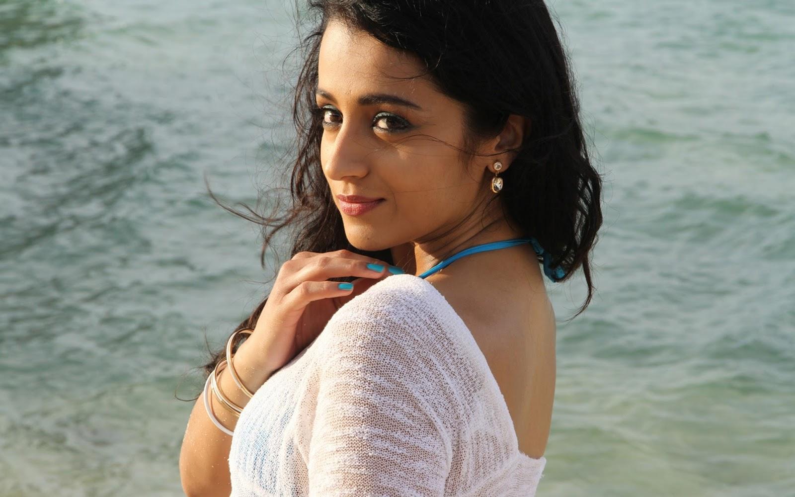 Trisha Krishnan Hot Hd Wallpapers Sexy Bikini Photos Images