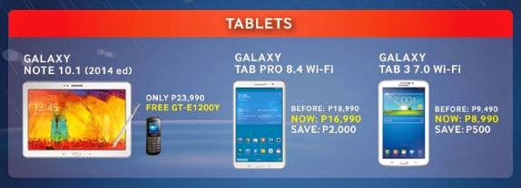 Samsung Rainy Day Sale,  Get Up To Php7,000 Off