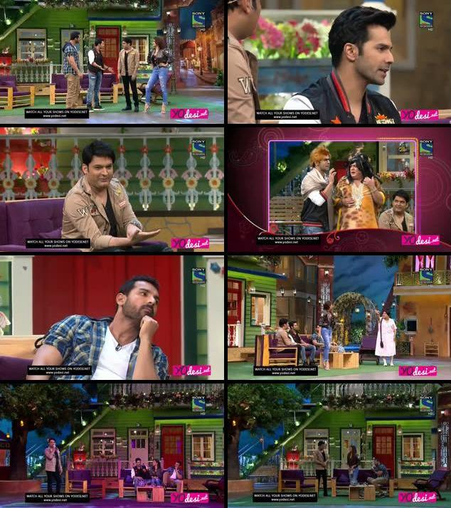 The Kapil Sharma Show 23 July 2016 HDTV 480p