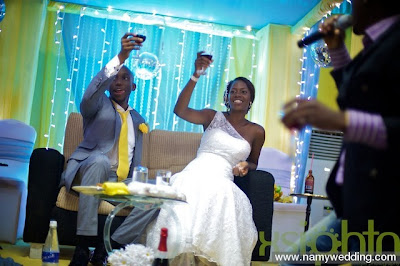 Pictures From Obiwon's Church Wedding & Reception. 29