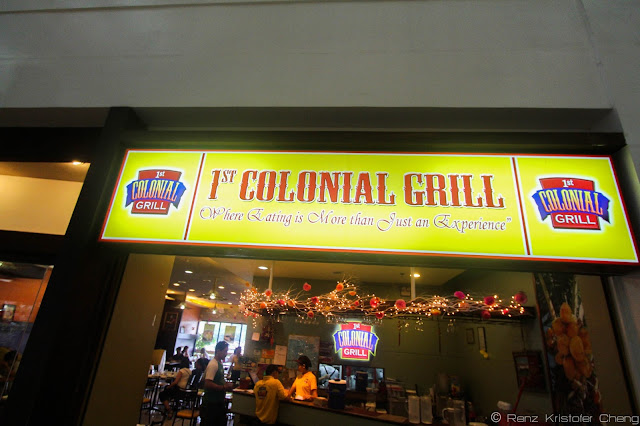 The First Colonial Grill in Legazpi City