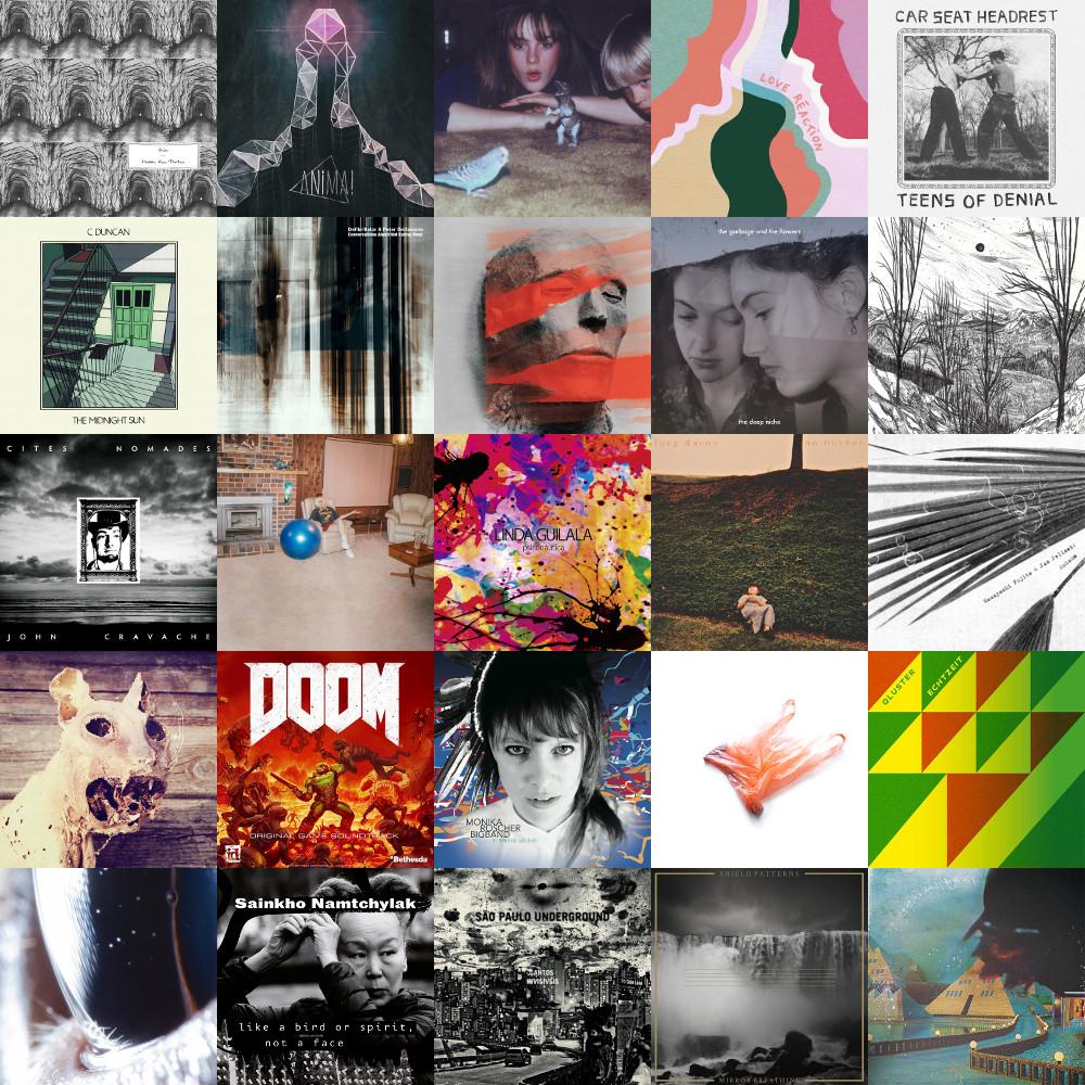 Hito Ijinowarui S Musical Blog My Favorite Albums Of 2016