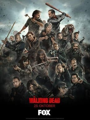 The Walking Dead - 8ª Temporada Torrent 2017 Dublada 1080p 720p BDRip FullHD HD HDTV