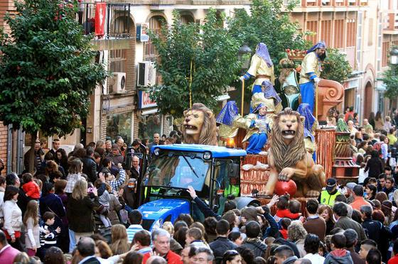 Horario e Itinerario de la Cabalgata de Reyes Magos de Huelva 2019