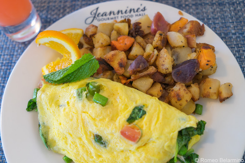 Westlake Omelet Jeannine's Gourmet Food Hall Healthy Conejo Valley Restaurants