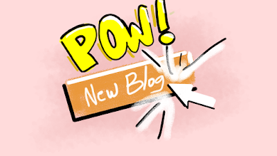 mouse click - new site - POW! - graphic