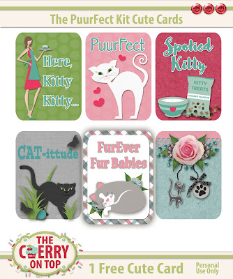 Free Kitty Cute Card
