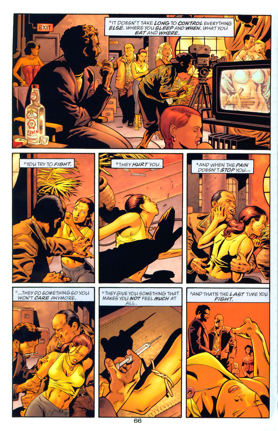 Read online Wonder Woman: The Hiketeia comic -  Issue # Full - 76