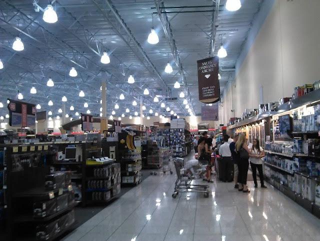 Compras de eletrônicos em Las Vegas