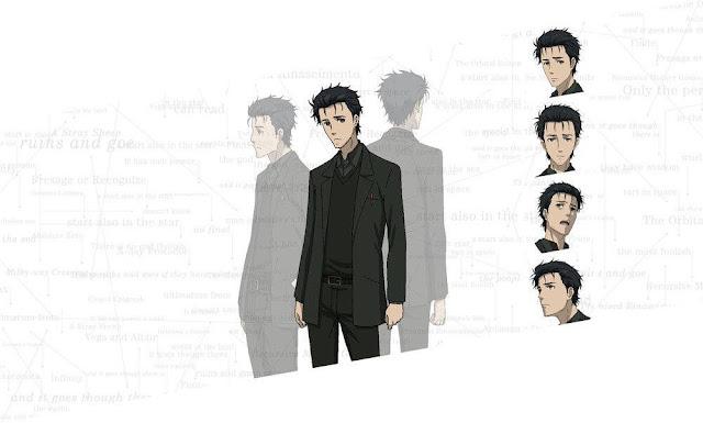 Rintarou Okabe - bohater Steins;Gate 0