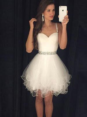 Vestido Branco Fofo