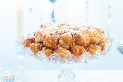Croquembouche wreath desserts recipes