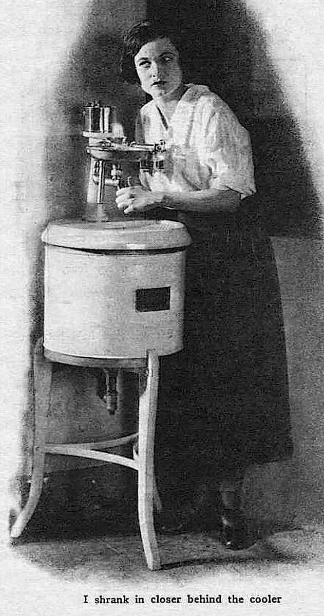a 1924 office water cooler