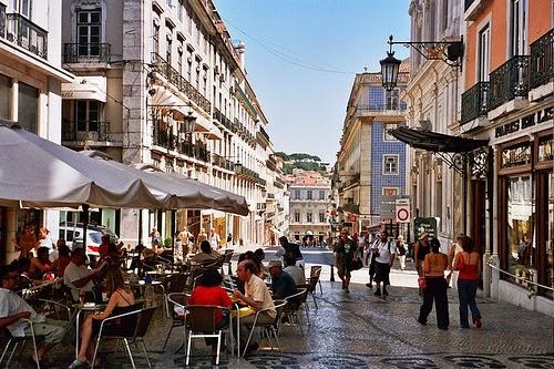 Bairro Chiado de Lisboa
