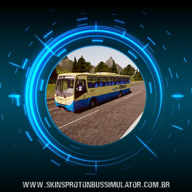 Skin Proton Bus Simulator - Ideale 770 OF-1721 BT5 Viação 1002