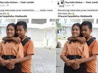 Miris! Bocah SD Berani Foto Seperti Ini Dengan Ejekan Yang Bikin Geram Netizen