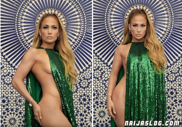 Jennifer Lopez breaks the internet after posing half-nak*d for InStyle Photo Shoot