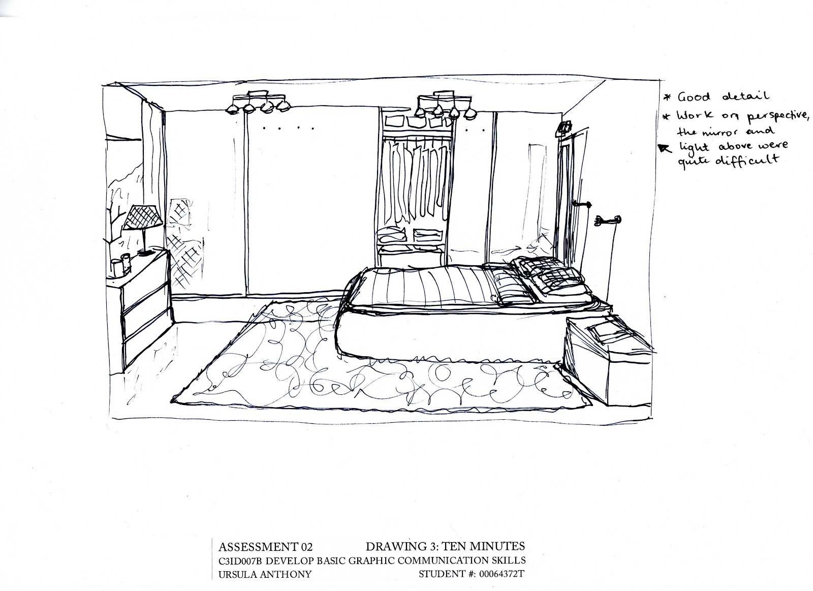Interiors C3id007b Speed And Accuracy In Drawing