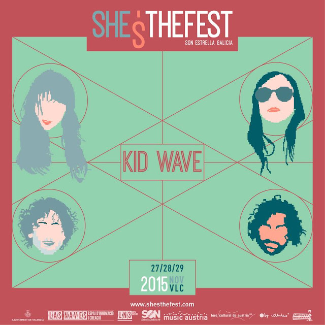 KID WAVE en She's The Fest