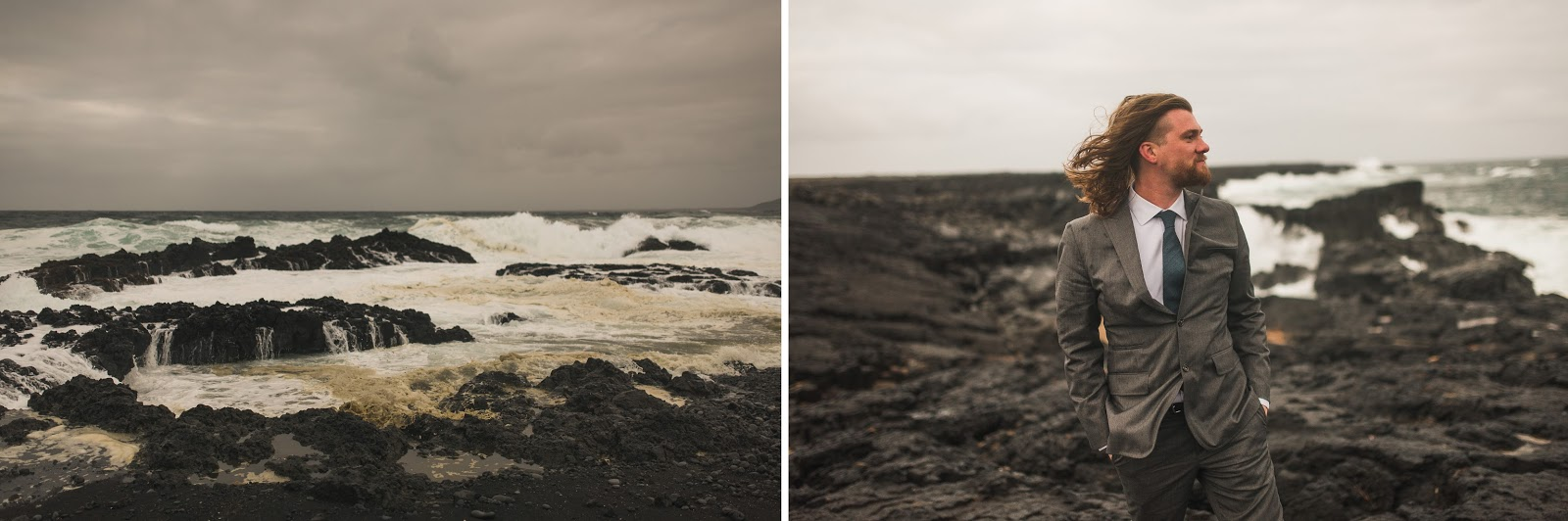 Icelandic Shore Elopement