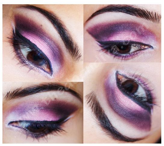 Pink Purple Smokey Eye Tutorial Thedocndiva