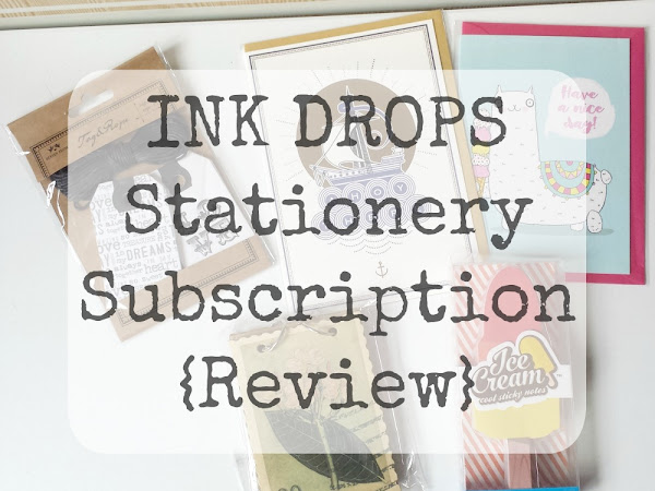 Ink Drops Stationery Subscription {Review}