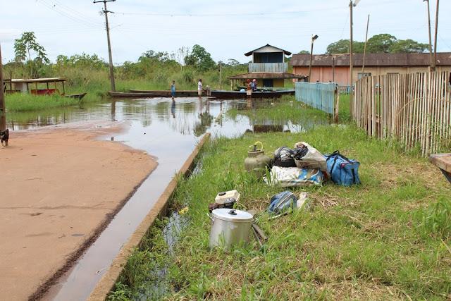 Rio Mamoré chega a 11,78 metros e 50 famílias são atingidas em Guajará