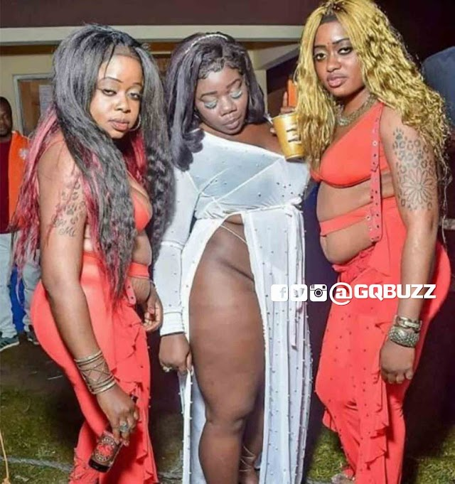 PLEASE, WHOSE AUNTIES ARE THESE? [FASHION OR MADNESS???].