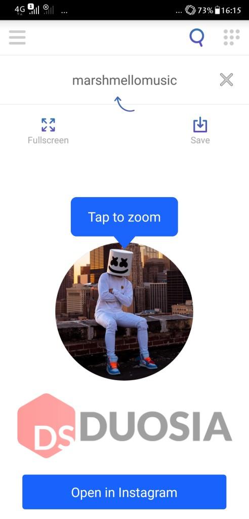 cara melihat dp instagram dengan mudah