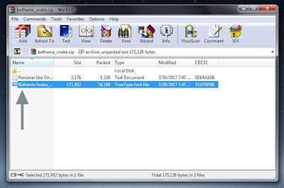 Cara Install Font Keren di Windows Vista,7,8,10