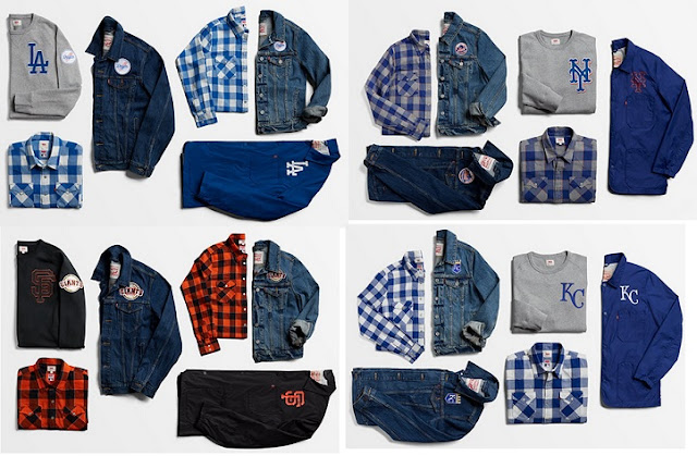 MLB Levi's 2017 Clothing