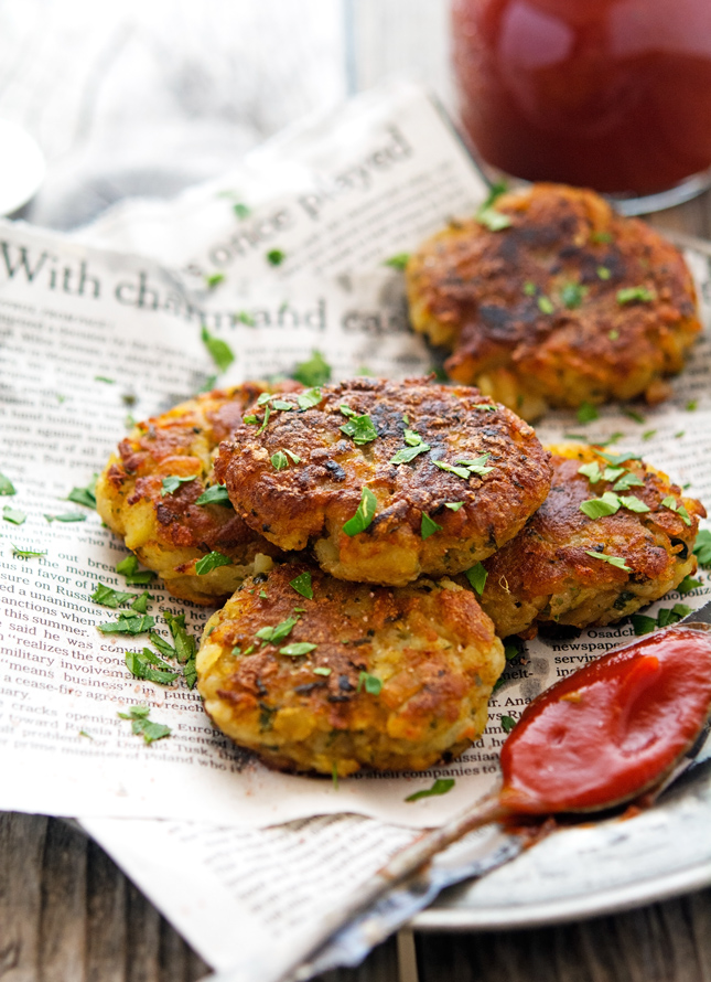 Spicy Potato Cakes