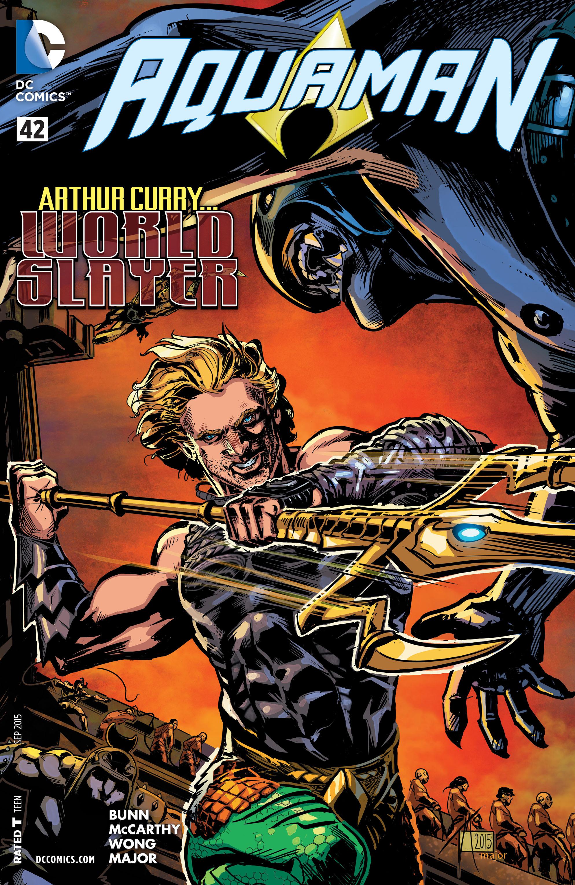 Read online Aquaman (2011) comic -  Issue #42 - 1