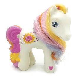 My Little Pony Sunny Daze Promo Ponies Book & Beauty Set G3 Pony