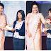 Social Activist and Founder of NGO-Nirbhiya Ek shakti Anuja Kapur felicitate the Awardees