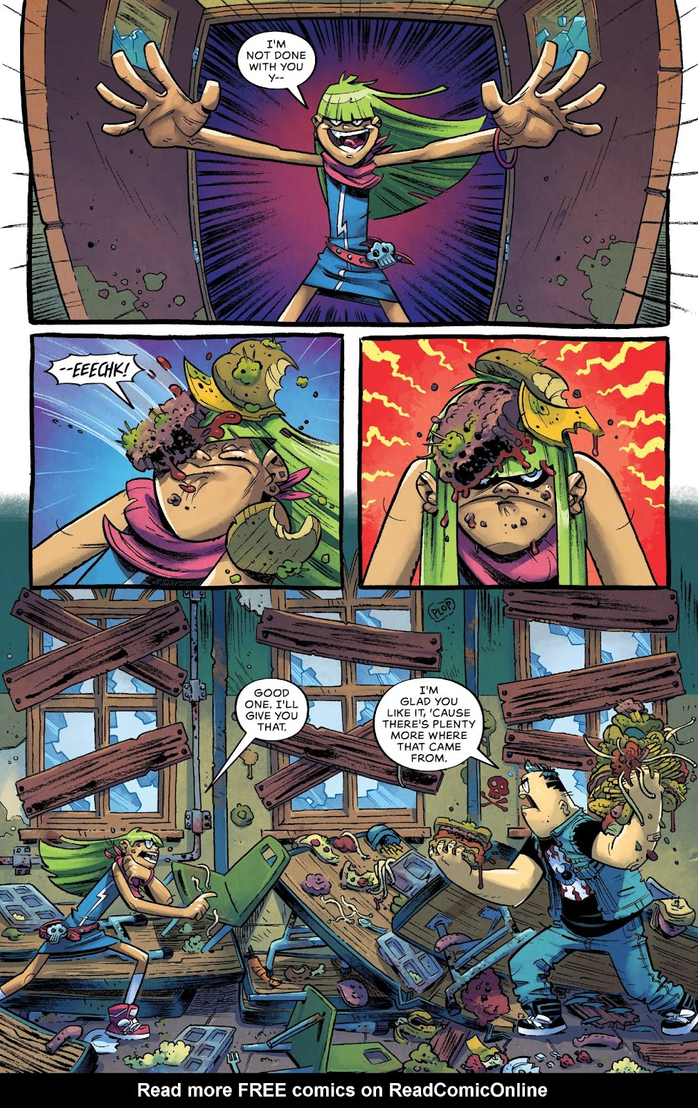 Read online Bully Wars comic -  Issue #4 - 8
