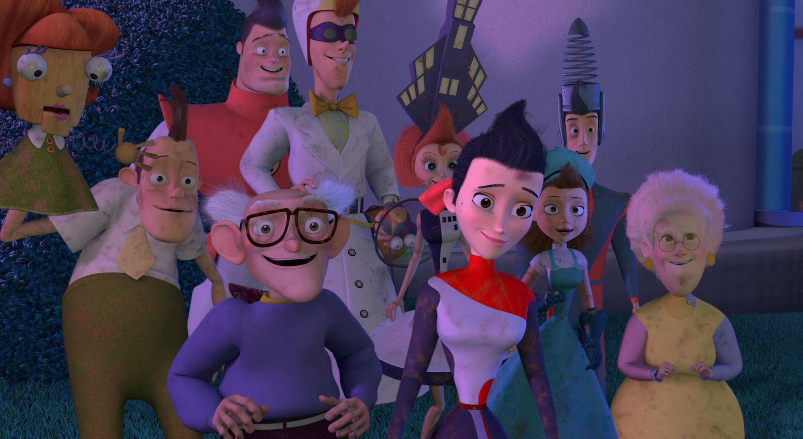 Cartoons Meet The Robinsons