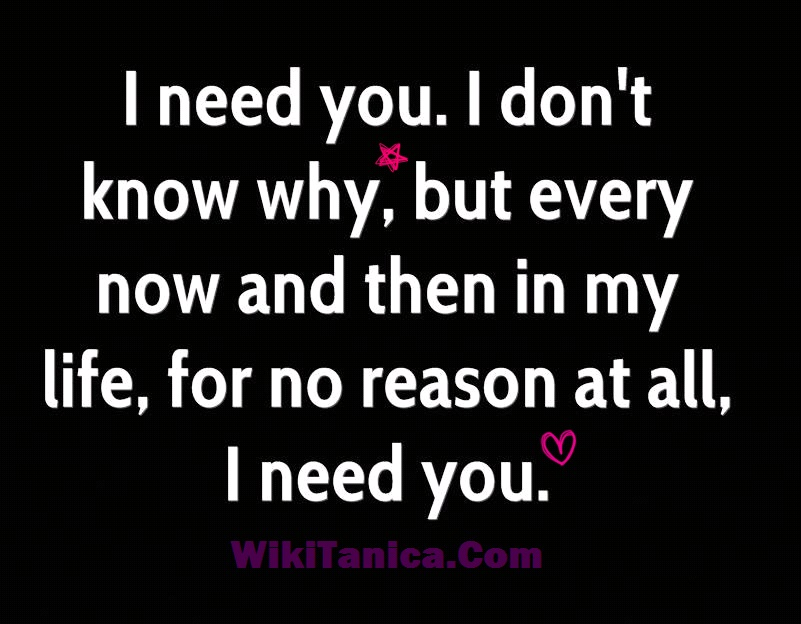Why I Need You In My Life Quotes Impressive I Need You In My Life Quotes For Boyfriend