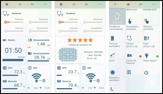4 applications to see the health status of your Android phone 88