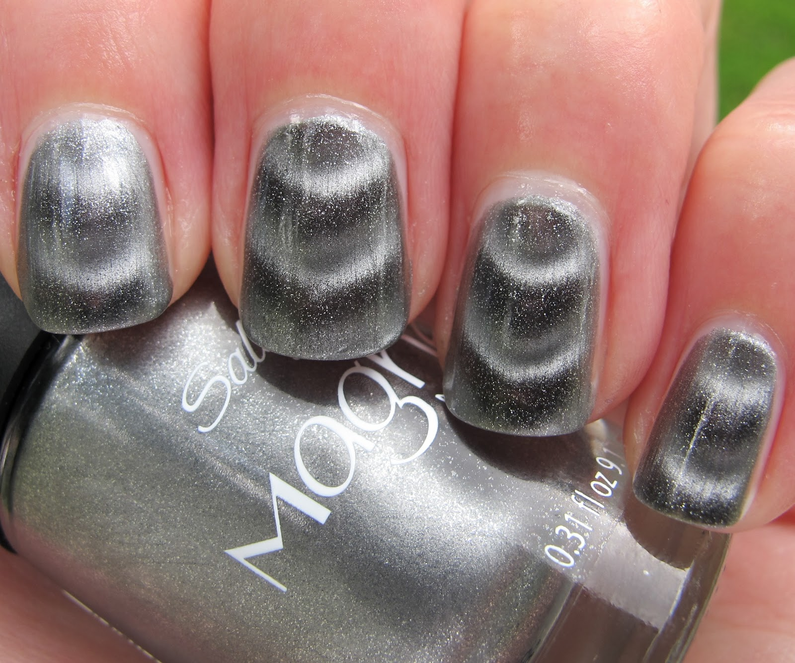 Never Enough Nails: Sally Hansen Silver Elements Magnetic Polish